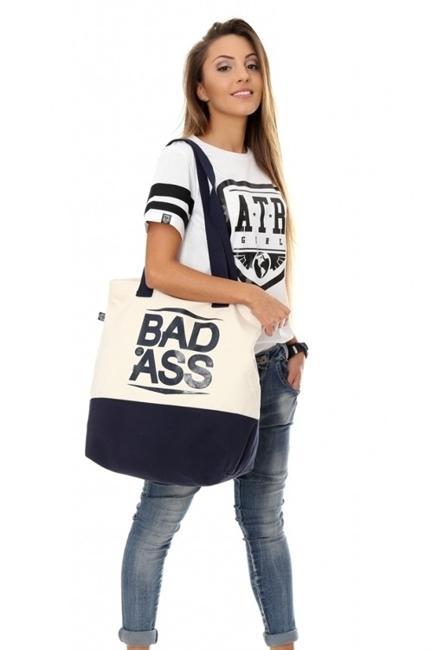 ATR WEAR - TORBA BAD ASS - ATR GIRL CANVAS BAG