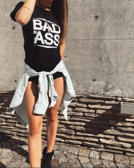 BAD ASS T-SHIRT ATR GIRL