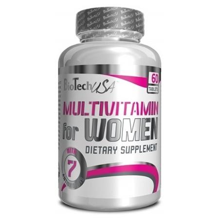 BIOTECH -  MULTIVITAMIN FOR WOMEN 60tab.