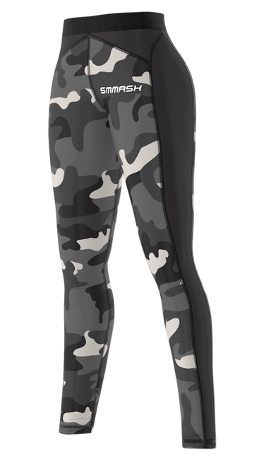 SMMASH - LEGGINSY CAMO (PUSH UP)