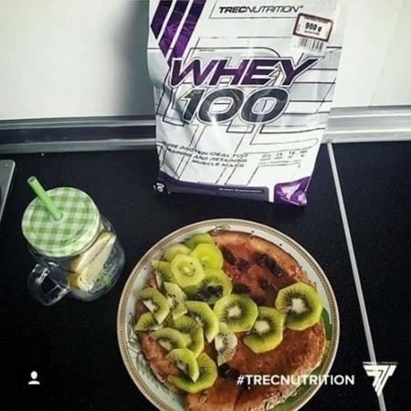 TREC NUTRITION WHEY 100 - 900 G CHOCO-COCO