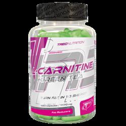 TREC NUTRITION L-CARNITINE + GREEN TEA - 180 CAP