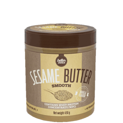 TREC NUTRITION - SESAME BUTTER SMOOTH - VANILLA - 450 G