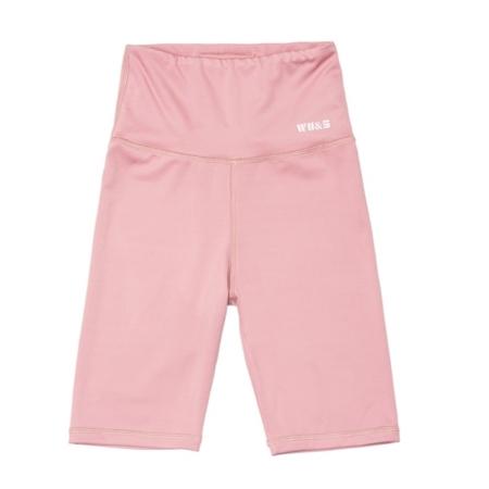 WAKE UP AND SQUAT - BIKE SHORTS (Dusty Pink)