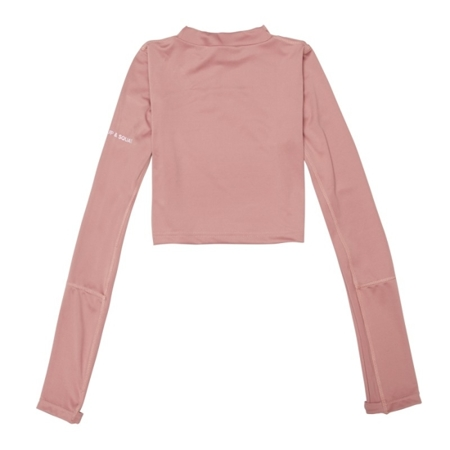 WAKE UP AND SQUAT - MIX&MATCH LONGSLEEVE (DUSTY PINK)