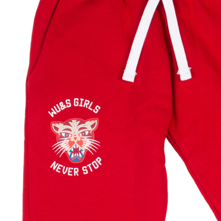 WAKE UP AND SQUAT - PANTS (red)
