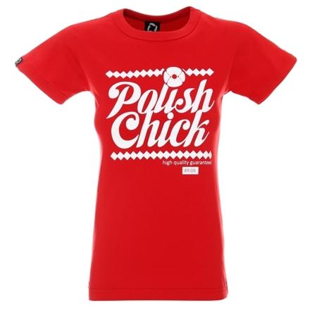 ATR WEAR - POLISH CHICK RED - ATR GIRL T-SHIRT
