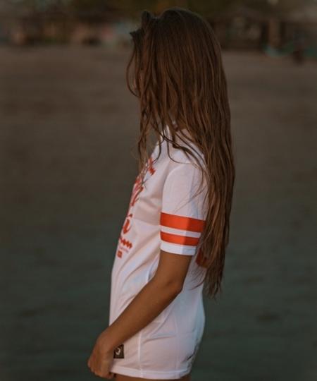 ATR WEAR - Polish Chick white American Football Jersey