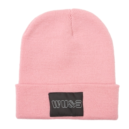 WAKE UP AND SQUAT - BEANIE (dirty pink)