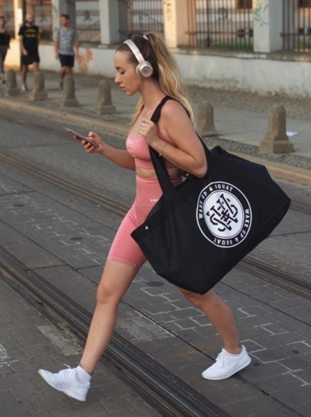 WAKE UP AND SQUAT- TORBA (TRAINING BAG)